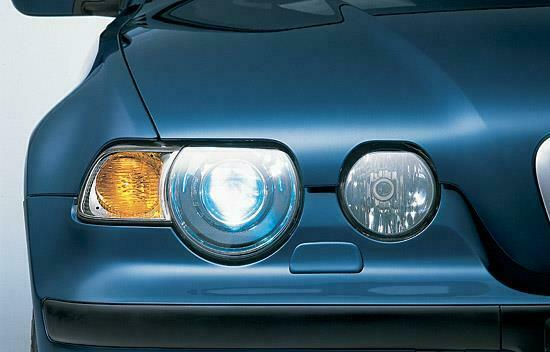 First Xenon Headlights