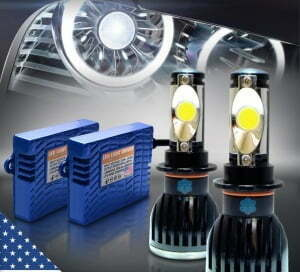 LED Headlight Conversion