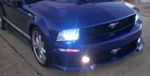 xenon headlights